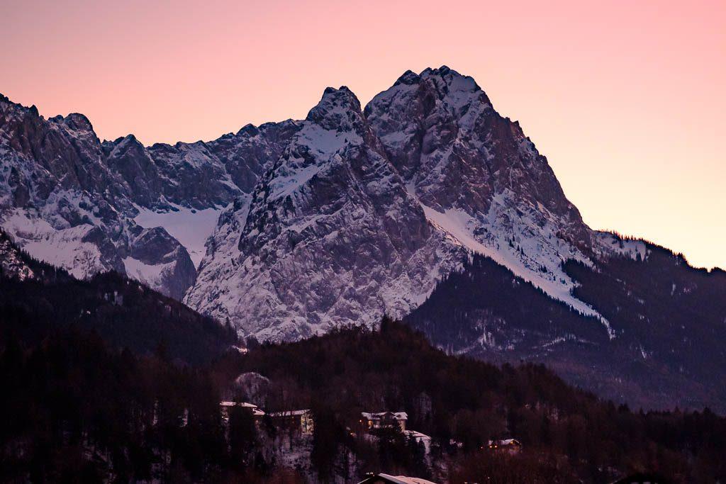 Sunset Zugspitze