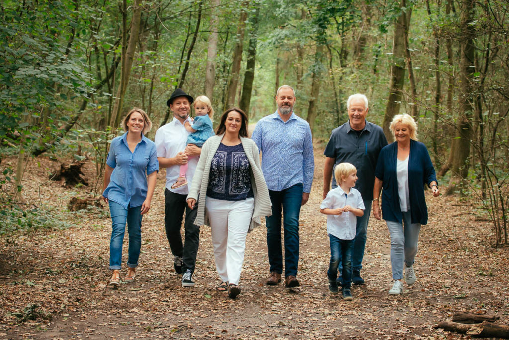 001 Familien Fotoshooting Wald